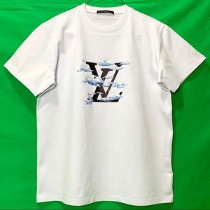 Louis Vuitton T-shirt Cloud Jacquard White
